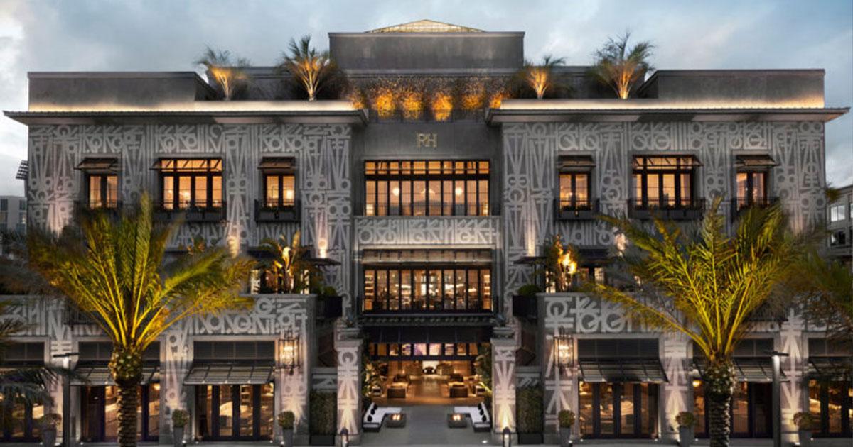Best kept secrets Palm Beach – RH Rooftop Restaurant