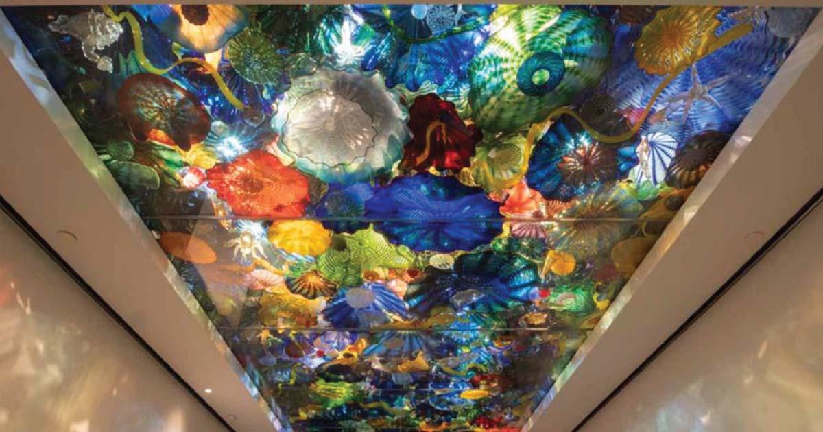 Norton Museum Ceiling Install
