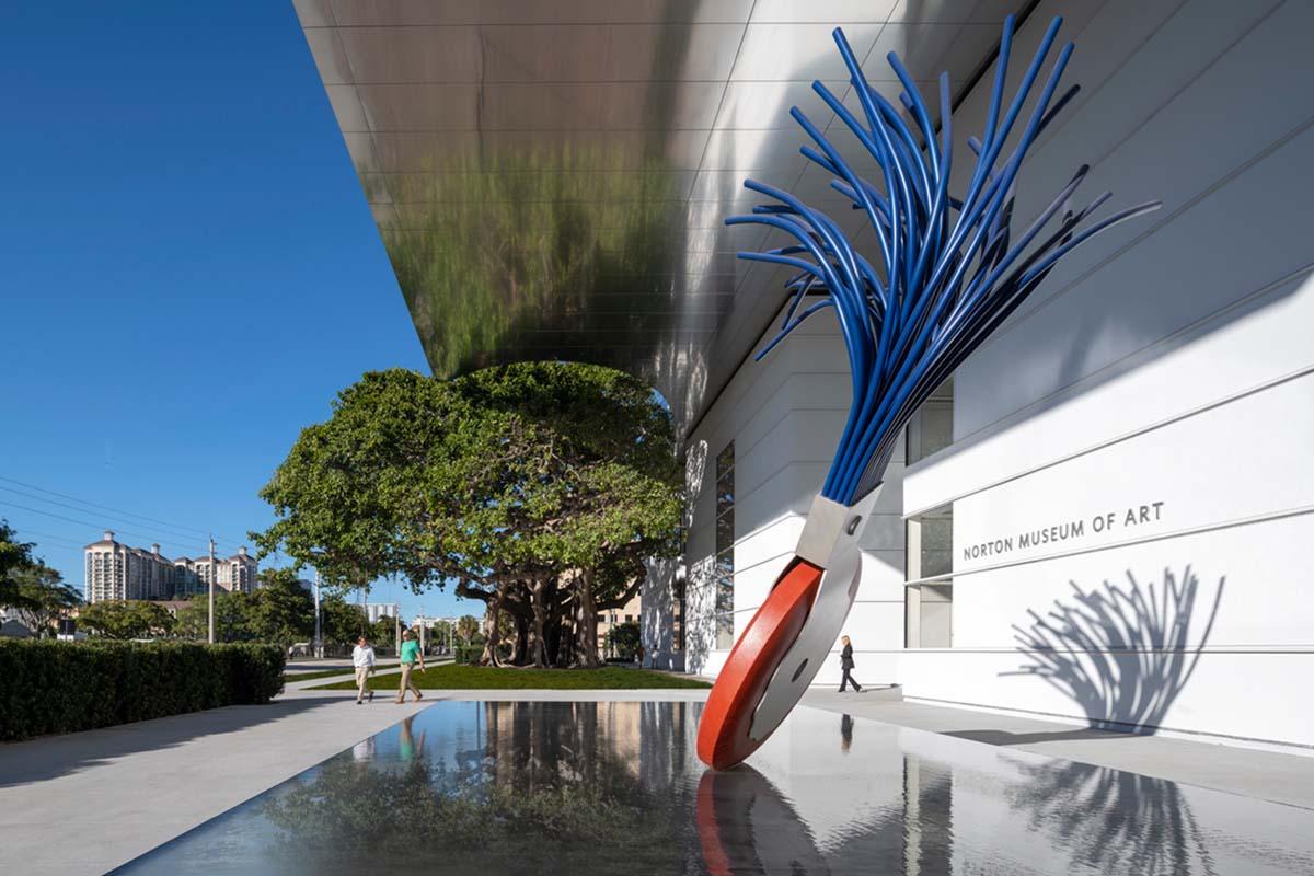 Norton Museum Exterior